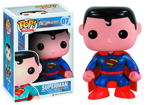 Funko DC Universe POP! Heroes Superman Exclusive Vinyl Figure #07 [New 52 Version, Damaged Package]