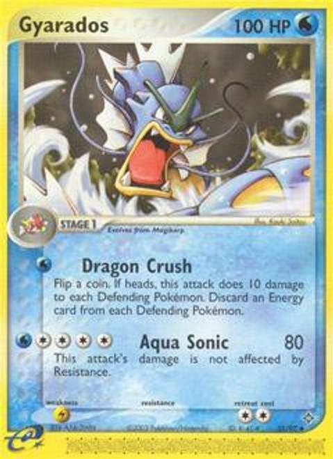 Pokemon Trading Card Game EX Dragon Uncommon Gyarados #32