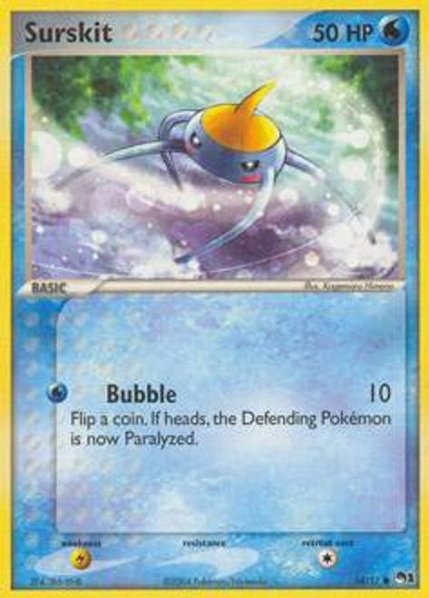 Pokemon Trading Card Game Organized Play Series 1 Common Surskit #14