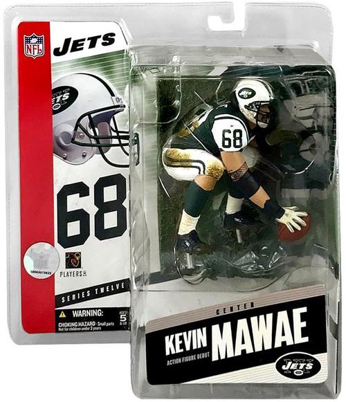 McFarlane Toys NFL New York Jets Sports Picks Series 12 Kevin Mawae Action Figure