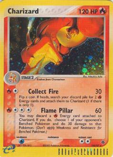 Pokemon Trading Card Game EX Dragon Rare Holo Charizard #100