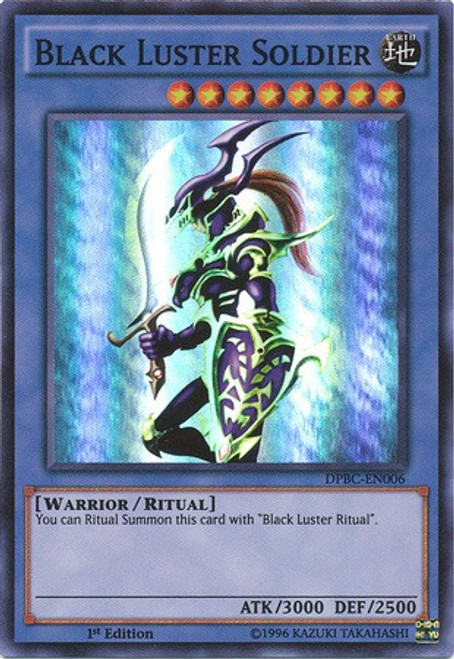 YuGiOh Duelist Pack Battle City Super Rare Black Luster Soldier DPBC-EN006