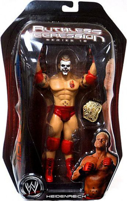 WWE Wrestling Ruthless Aggression Series 18 Heidenreich Action Figure