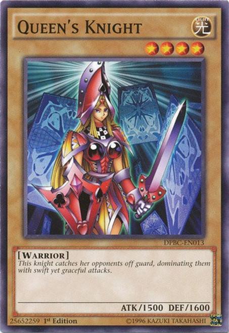 YuGiOh Duelist Pack Battle City Common Queen's Knight DPBC-EN013