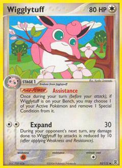 Pokemon EX Fire Red & Leaf Green Uncommon Wigglytuff #52