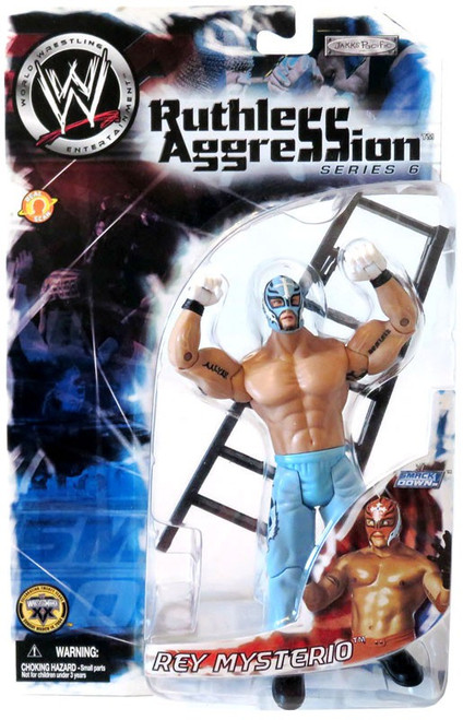 WWE Wrestling Ruthless Aggression Series 6 Rey Mysterio Action Figure