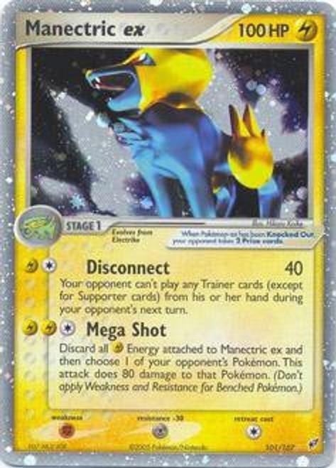 Pokemon Trading Card Game EX Deoxys Ultra Rare Manectric ex #101
