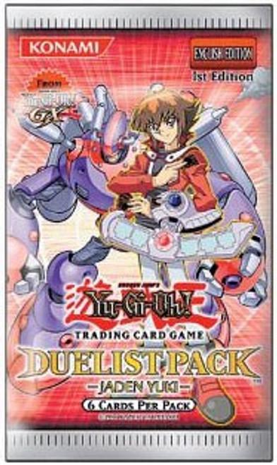 YuGiOh Trading Card Game Duelist Pack Jaden Yuki Booster Pack