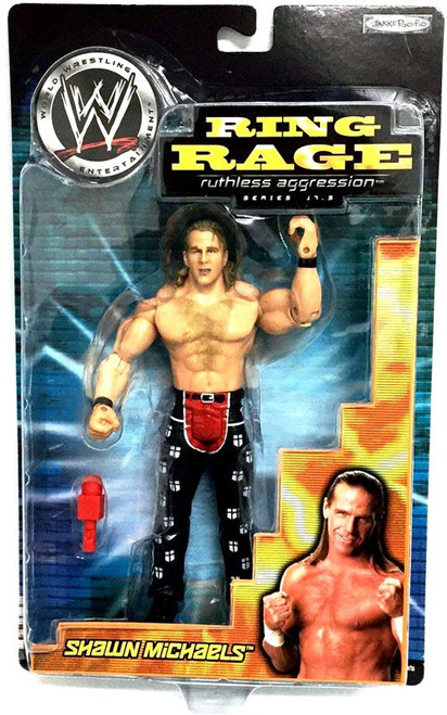 WWE Wrestling Ruthless Aggression 17.5 Ring Rage Shawn Michaels Action Figure