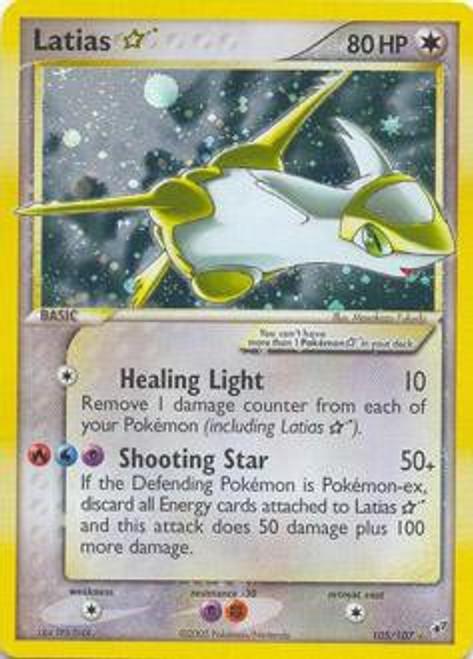 Pokemon Trading Card Game EX Deoxys Ultra Rare Latias * #105