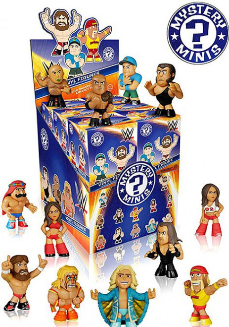Funko WWE Wrestling Mystery Minis WWE Series 1 Mystery Box [12 Packs]