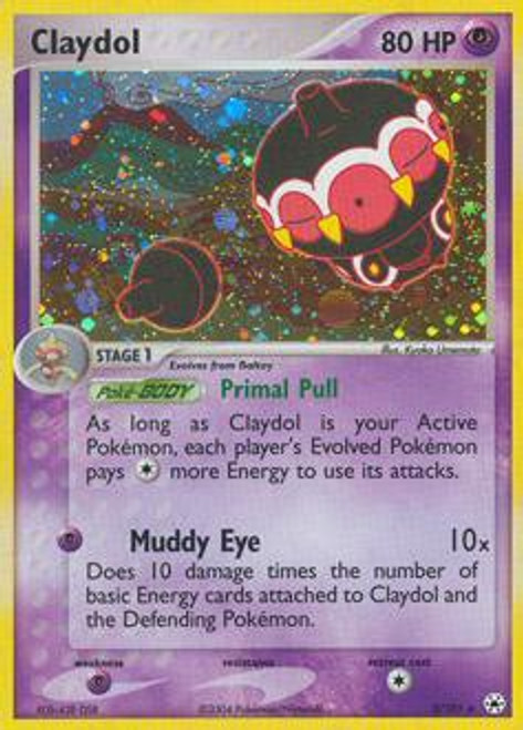 Pokemon EX Hidden Legends Rare Holo Claydol #2