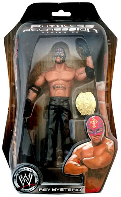 WWE Wrestling Ruthless Aggression Series 22 Rey Mysterio Action Figure
