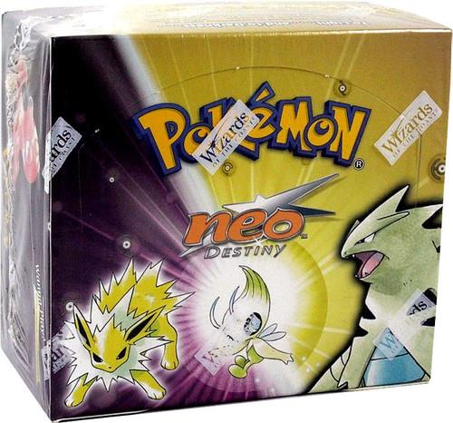 Pokemon Trading Card Game Neo Destiny Booster Box [36 Packs]