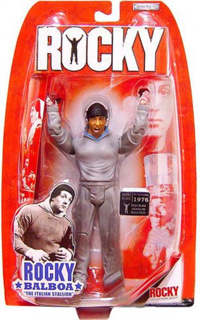 Rocky Balboa Action Figure [Grey Sweatsuit]