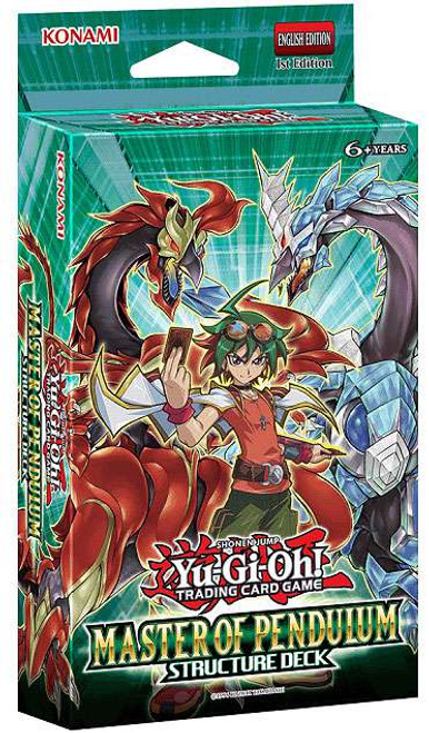 YuGiOh Trading Card Game Master of Pendulum Structure Deck