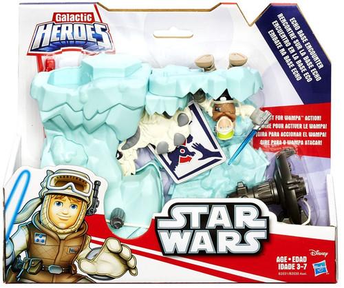 Star Wars Empire Strikes Back Galactic Heroes Echo Base Encounter Playset [Luke Skywalker & Wampa]