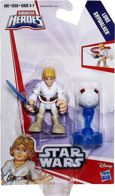 Star Wars Galactic Heroes Luke Skywalker Mini Figure [with Droid]