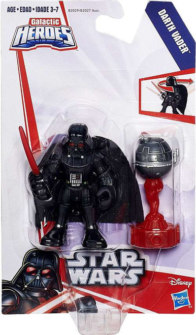 Star Wars Galactic Heroes Darth Vader Mini Figure [With Droid]