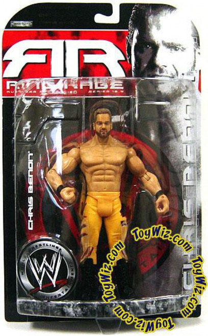 WWE Wrestling Ruthless Aggression Series 18.5 Ring Rage Chris Benoit Action Figure