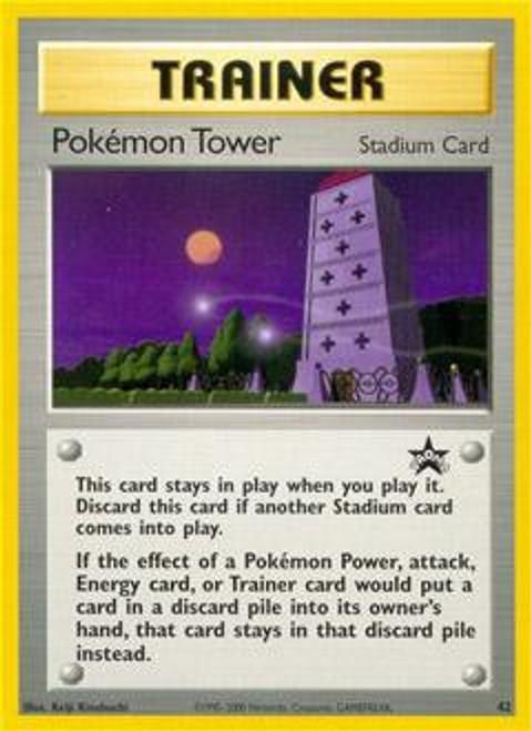 Promo Cards WotC Promo Pokemon Tower #42