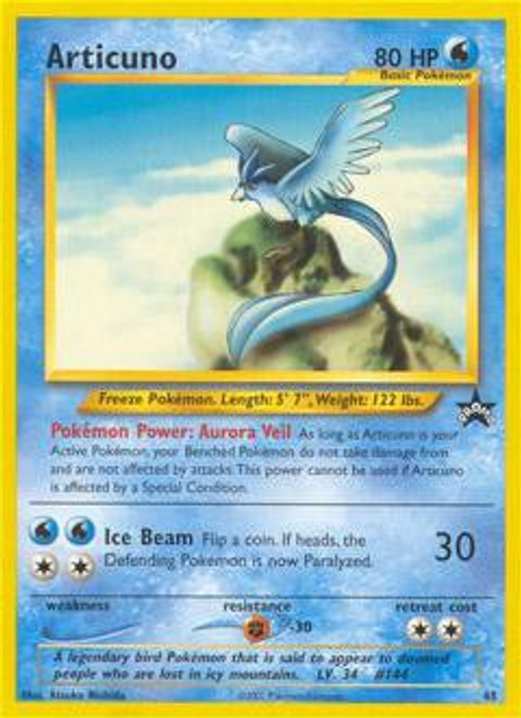 Pokemon Promo Cards WotC Promo Articuno #48