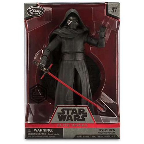 Disney Star Wars The Force Awakens Elite Kylo Ren Exclusive 7.5-Inch Diecast Figure [Mask ON]