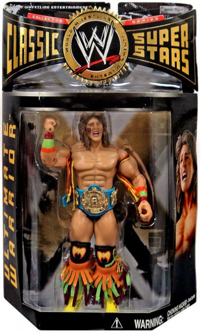 WWE Wrestling Classic Superstars Series 7 Ultimate Warrior Action Figure