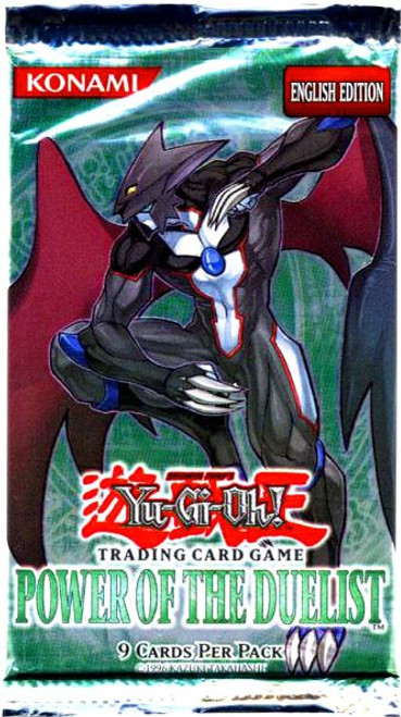 YuGiOh Trading Card Game Power of the Duelist Booster Pack