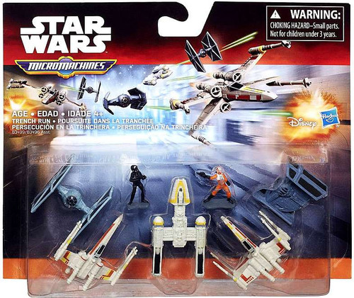 Star Wars The Force Awakens Micro Machines Trench Run Vehicle Pack