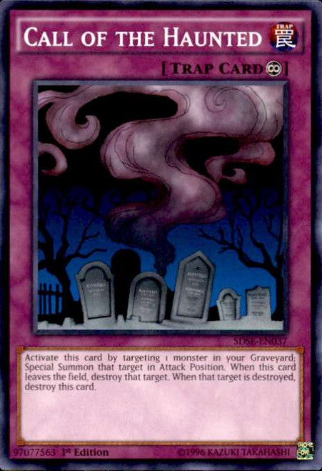 YuGiOh Synchron Extreme Structure Deck Common Call of the Haunted SDSE-EN037