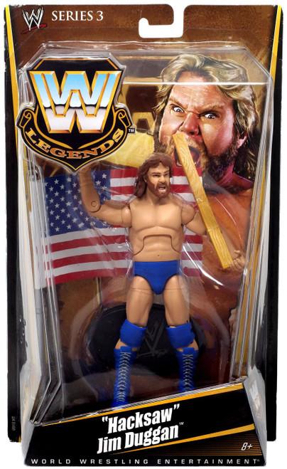 WWE Wrestling Legends Series 3 Hacksaw Jim Duggan Action Figure