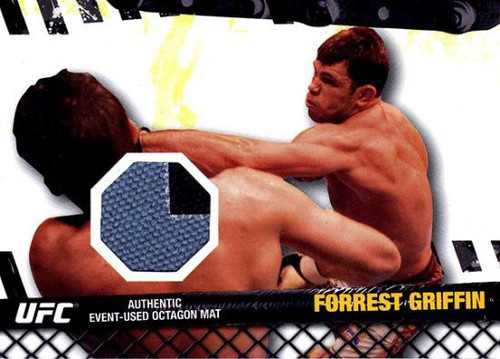 Topps UFC 2010 Championship Fight Mat Relic Forrest Griffin FM-FG
