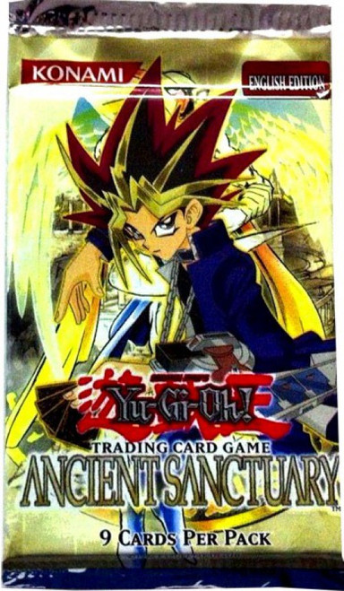 YuGiOh Trading Card Game Ancient Sanctuary Booster Pack
