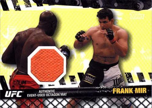 Topps UFC 2010 Championship Fight Mat Relic Frank Mir FM-FM