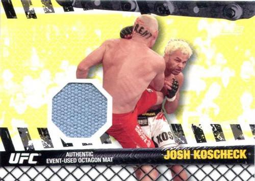 Topps UFC 2010 Championship Fight Mat Relic Josh Koscheck FM-JK