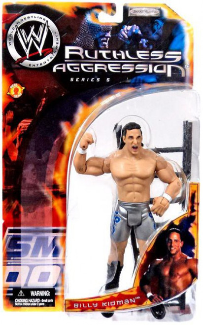 WWE Wrestling Ruthless Aggression Series 5 Billy Kidman Action Figure