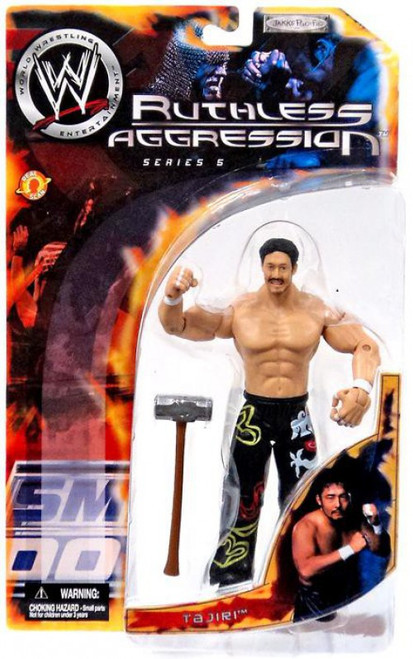 WWE Wrestling Ruthless Aggression Series 5 Tajiri Action Figure