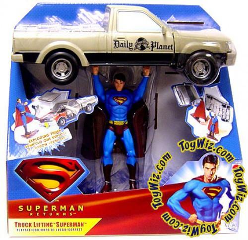 Superman Returns Superman Action Figure [Truck Lifting]