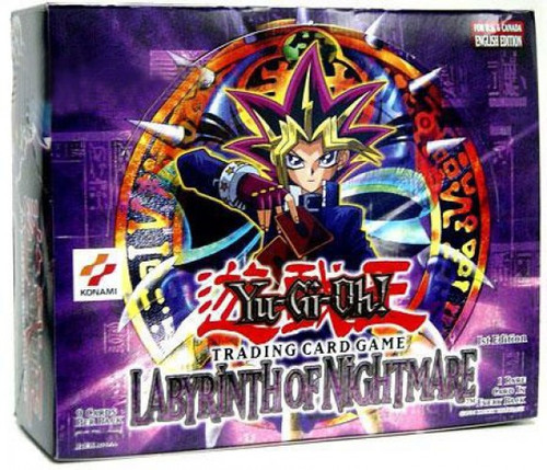 YuGiOh Trading Card Game Labyrinth of Nightmare (1st Edition) Booster Box [24 Packs]