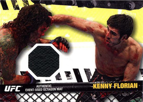 Topps UFC 2010 Championship Fight Mat Relic Kenny Florian FM-KF