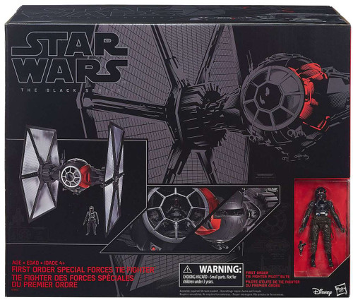 Star Wars The Force Awakens First Order Special Forces TIE Fighter 6-Inch Vehicle