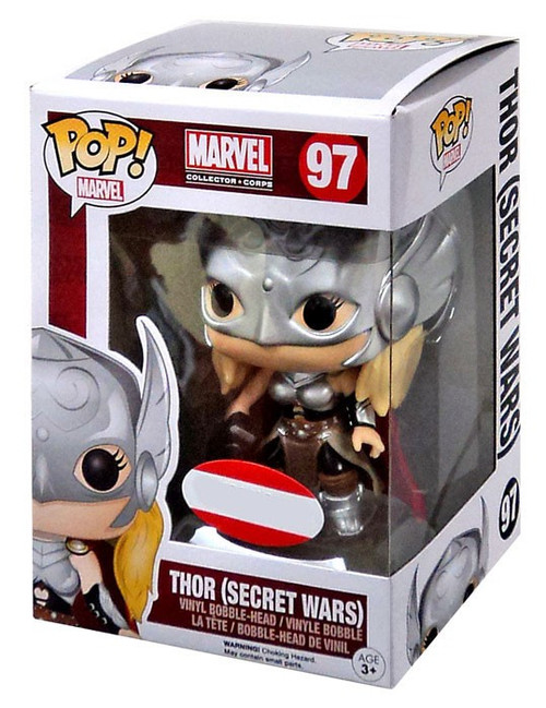 Funko POP! Marvel Thor Exclusive Vinyl Figure #97 [Secret Wars]