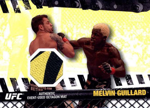 Topps UFC 2010 Championship Fight Mat Relic Melvin Guillard FM-MG [Yellow & Black]