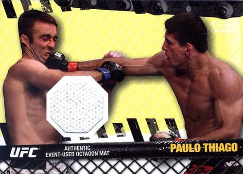 Topps UFC 2010 Championship Fight Mat Relic Paulo Thiago FM-PT