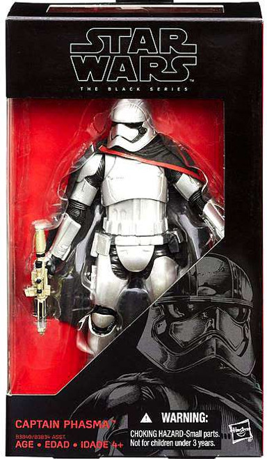 "Star Wars The Force Awakens Black Series Captain Phasma Action Figure [6""]"