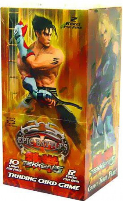 Epic Battles Trading Card Game Tekken 5 Booster Box [12 Packs]