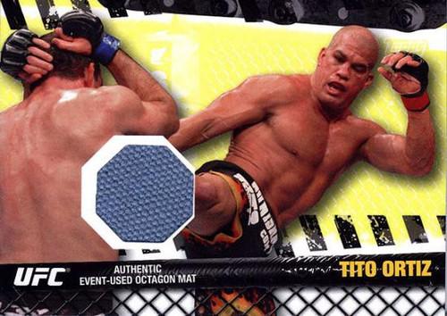 Topps UFC 2010 Championship Fight Mat Relic Tito Ortiz FM-TO