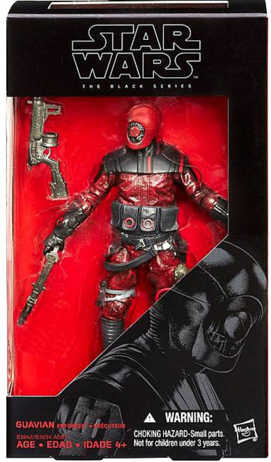 Star Wars The Force Awakens Black Series Guavian Enforcer Action Figure