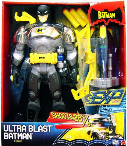 The Batman EXP Extreme Power Batman Action Figure [Ultra Blast]